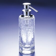 Accessories Crackled Glass Soap Dispenser