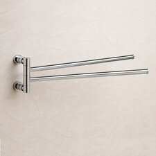 Cylinder Double Towel Bar