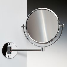 Double Face Wall Mounted 5X Magnifying Mirror