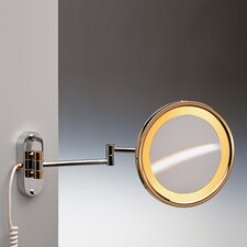 Incandescent Light Extendable 3X Magnifying Mirror