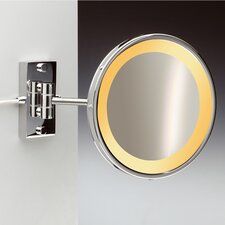 Incandescent Light 3X Magnifying Mirror with One Arm