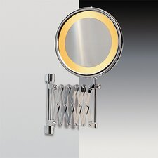 "8"" Incandescent Light 5X Magnifying Mirror"