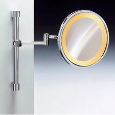"<strong>Windisch by Nameeks</strong> 9"" Incandescent Light Extendable and Adjustable 5X Magnifying Mirror"