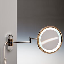 Fluorescent Light 3X Magnifying Mirror with Direct Connection
