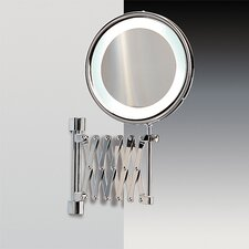 Fluorescent Light 5X Magnifying Mirror