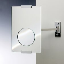"<strong>Windisch by Nameeks</strong> 4.6"" One Face Wall Mounted 3X Magnifying Mirror"
