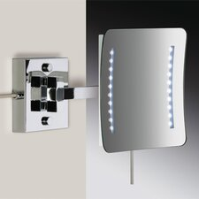"<strong>Windisch by Nameeks</strong> 7.9"" Wall Mount 3X Magnifying LED Mirror with One Arm and Sensor"