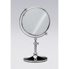 Cylindrical Stand Makeup Mirror