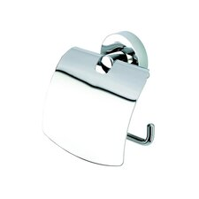 <strong>Geesa by Nameeks</strong> Luna Toilet Paper Holder with Cover in Chrome