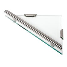 Nemox Triangular Glass Shelf Tray