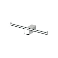 <strong>Geesa by Nameeks</strong> Nexx Double Toilet Paper Holder in Chrome