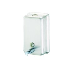 Standard Hotel Wall Mounted Soap Dispenser in Stainless Steel