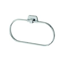 <strong>Geesa by Nameeks</strong> Standard Hotel Oval Towel Ring in Chrome