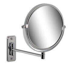 Shaving Mirror in Chrome