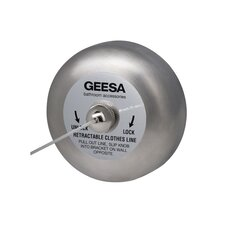 <strong>Geesa by Nameeks</strong> Standard Hotel Retractable Clothes Line in Stainless Steel