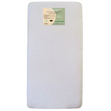 "<strong>L.A. Baby</strong> Naturally Organic V Triple Zone 6.25"" Crib Mattress"