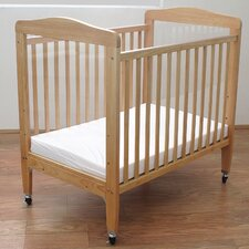 <strong>L.A. Baby</strong> Compact Wooden Window Crib
