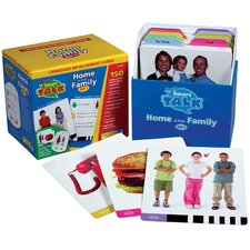 <strong>Educational Insights</strong> Card Set #1: Home and Family (Smart Talk)
