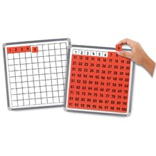 Magnetic 100 Board and Tiles