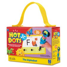 <strong>Educational Insights</strong> Hot Dots Jr. Alphabet Card Set with Pen