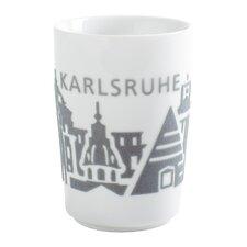 "0,35L Maxi-Becher Touch ""Five Senses"" mit Karlsruhe-Dekor"