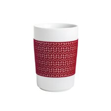 "0,35L Maxi-Becher Touch ""Five Senses"" mit Rot 100 Hearts-Dekor"