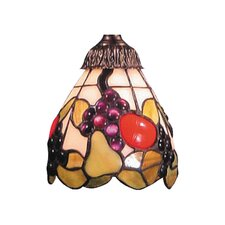 "Mix-N-Match 5.25"" Fruit Design Glass Shade"