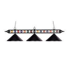 <strong>Landmark Lighting</strong> Designer Classics 3 Light Pendant