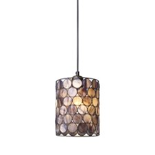 Capiza 1 Light Mini Pendant