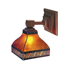 <strong>Landmark Lighting</strong> Santa Fe 1 Light Wall Sconce
