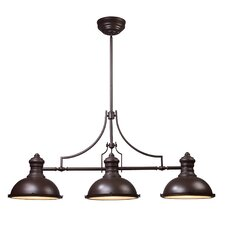 <strong>Landmark Lighting</strong> Chadwick 3 Light Kitchen Island Pendant