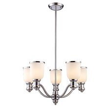 Brooksdale 5 Light Chandelier