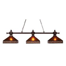<strong>Landmark Lighting</strong> Santa Fe3 Light Pendant