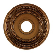 "15.5"" Campione Medallion in Antique Brass"