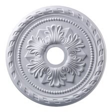 "<strong>Landmark Lighting</strong> 22"" Corinthian Medallion in White"