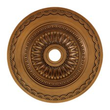 "30"" Brookdale Medallion in Antique Brass"
