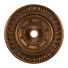 "33"" Corinna Medallion in Antique Brass"