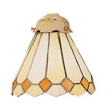 <strong>Landmark Lighting</strong> Mix-N-Match Glass Shade in White