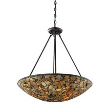 Trego 4 Light Inverted Pendant