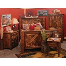Reclaimed Barnwood Barndoor Panel Bedroom Collection