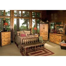 Hickory Slat Bedroom Collection