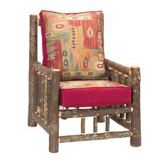 Hickory Chair and Ottoman