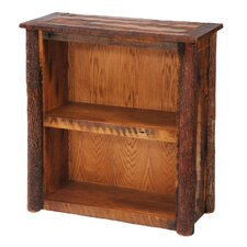 <strong>Fireside Lodge</strong> Reclaimed Barnwood Bookcase