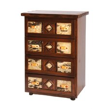 <strong>Fireside Lodge</strong> Adirondack 4 Drawer Chest