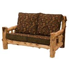 Traditional Cedar Log Living Room Collection