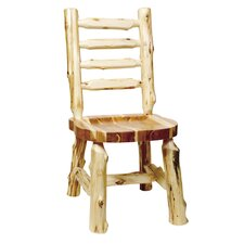 <strong>Fireside Lodge</strong> Traditional Cedar Log Side Chair