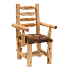 Traditional Cedar Log Armchair