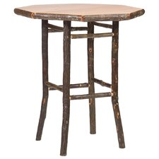Hickory Pub Table with Optional Stools