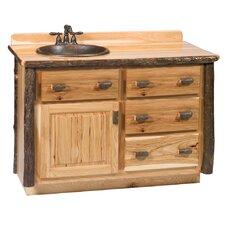 "Hickory 48"" Single Bathroom Vanity Set"