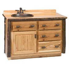 "Hickory 48"" Vanity Set"